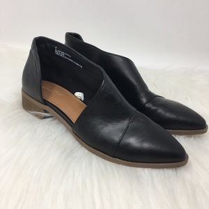 Universal Thread Wenda cut out black bootie shoes